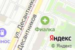 Схема проезда до компании Angel в Санкт-Петербурге