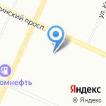Энергетик на карте Санкт-Петербурга