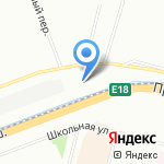 Белые ночи на карте Санкт-Петербурга