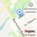 Сертоловская средняя общеобразовательная школа №1 на карте Санкт-Петербурга