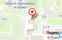 Схема проезда до компании Эдельвейс в Санкт-Петербурге