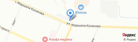 Шиномонтаж24 на карте Санкт-Петербурга