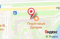 Схема проезда до компании Велс в Санкт-Петербурге