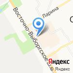 От реки до океана на карте Санкт-Петербурга