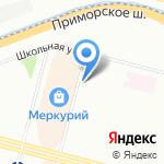 Салон красоты на карте Санкт-Петербурга