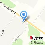 Таракан на карте Санкт-Петербурга