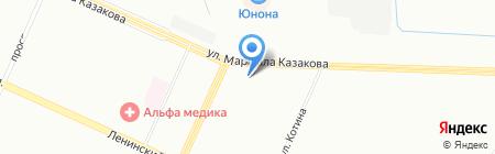 АСТ СК на карте Санкт-Петербурга