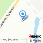 Ульянка-4А на карте Санкт-Петербурга