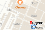 Схема проезда до компании ЕВРОТЕК в Санкт-Петербурге