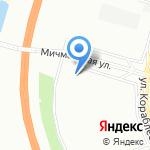 Капля на карте Санкт-Петербурга