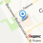 ДомМаркет на карте Санкт-Петербурга