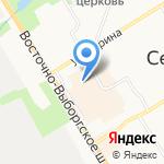 Мировые судьи Всеволожского района на карте Санкт-Петербурга