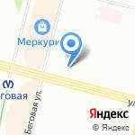 Эгоистка на карте Санкт-Петербурга
