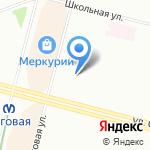 Центр социальной помощи семье и детям Приморского района на карте Санкт-Петербурга