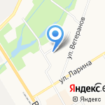 ВетЛайн на карте Санкт-Петербурга