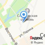 Электромонтаж на карте Санкт-Петербурга
