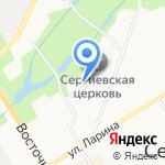 Городская поликлиника на карте Санкт-Петербурга