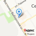 Магазин украшений из янтаря на карте Санкт-Петербурга