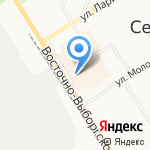 Дом плюс на карте Санкт-Петербурга