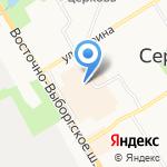 Магазин кожгалантереи на карте Санкт-Петербурга