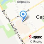 Сертоловский Пивной Бар на карте Санкт-Петербурга