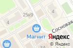 Схема проезда до компании Киоск по продаже фруктов и овощей в Сертолово