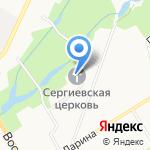 Храм преподобного Сергия Радонежского на карте Санкт-Петербурга