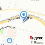 Омега-Премиум на карте Санкт-Петербурга