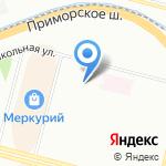 Детский сад №76 на карте Санкт-Петербурга