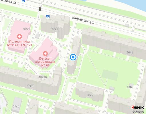 Жилищно-строительный кооператив «Адмиралтейство» на карте Санкт-Петербурга