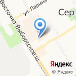 Сударушка на карте Санкт-Петербурга