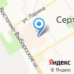 Преображенский на карте Санкт-Петербурга