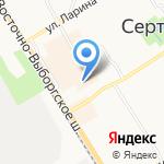Стиль-мастер на карте Санкт-Петербурга