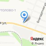 Уютная лавка на карте Санкт-Петербурга