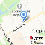 Будьте здоровы на карте Санкт-Петербурга