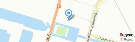 Darling на карте Санкт-Петербурга
