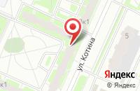 Схема проезда до компании Ларэс в Санкт-Петербурге