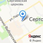 Сантех сервис на карте Санкт-Петербурга