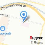 Женская консультация №12 на карте Санкт-Петербурга