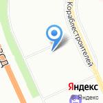 Кораблестроителей 16/3 на карте Санкт-Петербурга