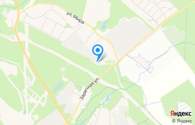 Местоположение на карте пункта техосмотра по адресу Ленинградская обл, Всеволожский р-н, г Сертолово, мкр Сертолово-2, ул Юбилейная, д 1