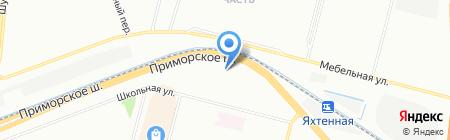 АвтоЭмали на карте Санкт-Петербурга