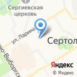 Шумофф на карте Санкт-Петербурга