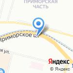 Мир Автостекла на карте Санкт-Петербурга