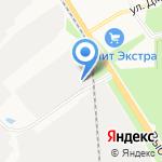 Фост-Моторс на карте Санкт-Петербурга
