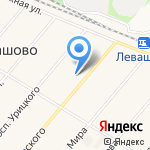 Левашовский на карте Санкт-Петербурга