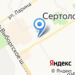 ДэНи на карте Санкт-Петербурга