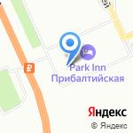 Музыкальный Олимп на карте Санкт-Петербурга