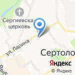 Юбилей на карте Санкт-Петербурга