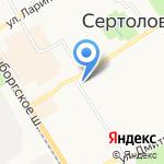 ЦветОптРозница на карте Санкт-Петербурга